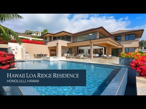 Hawaii Loa Ridge Residence designed by LongHouse Design+Build
