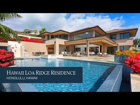 Hawaii Loa Ridge Residence designed by LongHouse Design+Build