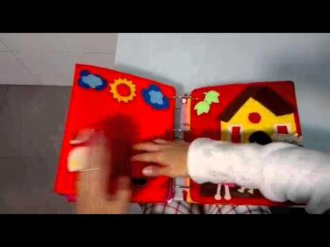 Libro Sensorial Ninos 2 Anos Juegos Actividades Youtube
