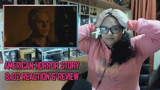 """American Horror Story: Apocalypse 8x02 REACTION & REVIEW """"The Morning After"""" S08E02   JuliDG"""