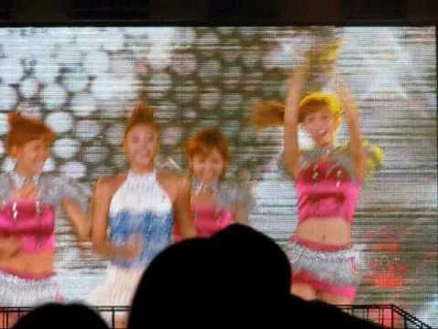 [FANCAM] 110312 Son Dam Bi & After School - Saturday Night @ Korean Music Wave in BKK
