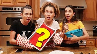 BAKING WITHOUT INSTRUCTIONS CHALLENGE feat. THE MERRELL TWINS!!