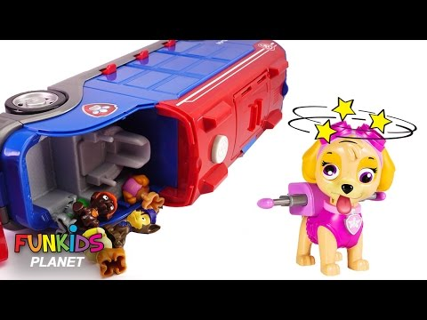 Thumbnail: Learning Videos for Children: Paw Patrol Skye & Chase Crash Mission Cruiser Doc McStuffins Helps