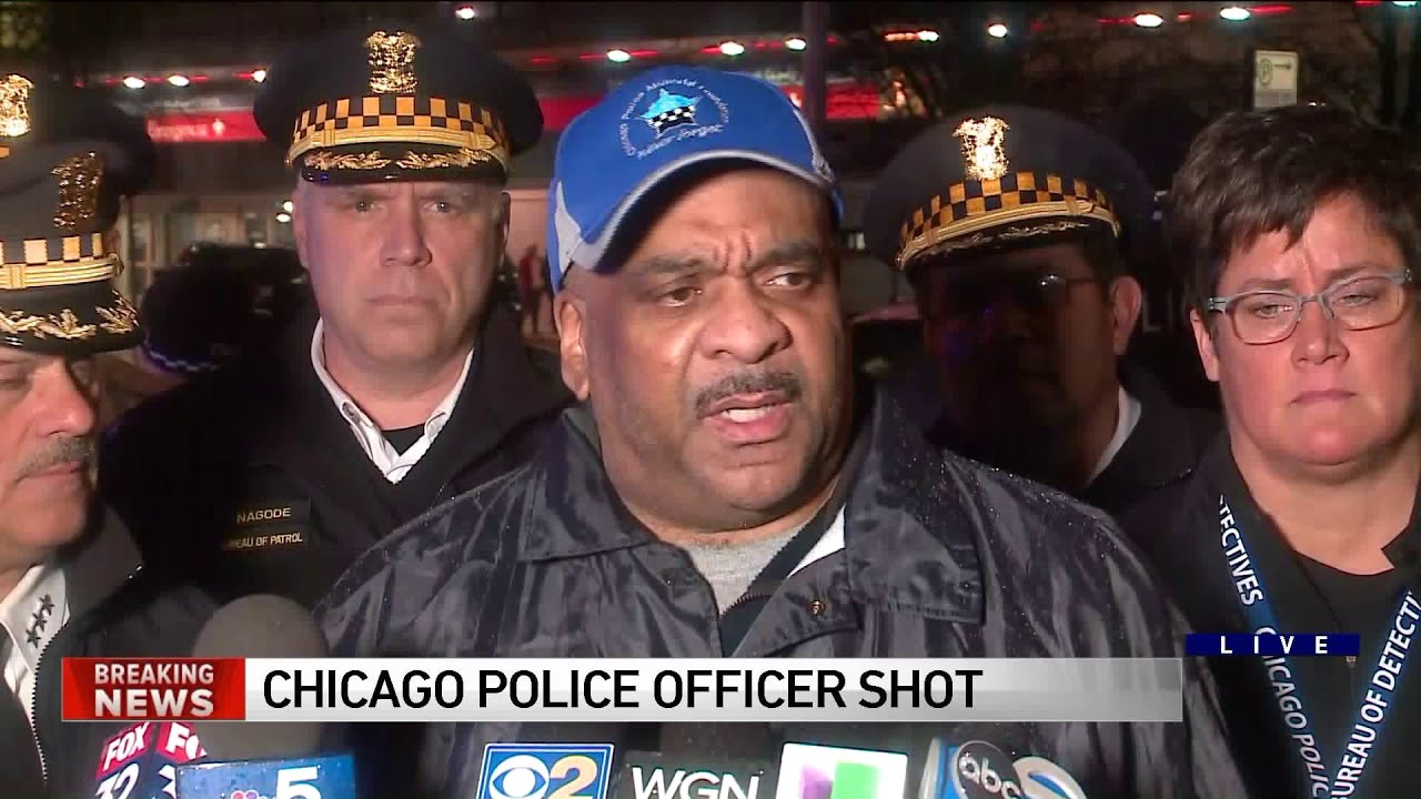 d6b7f69054c08 Eddie Johnson gives update after Chicago police officer shot on West Side