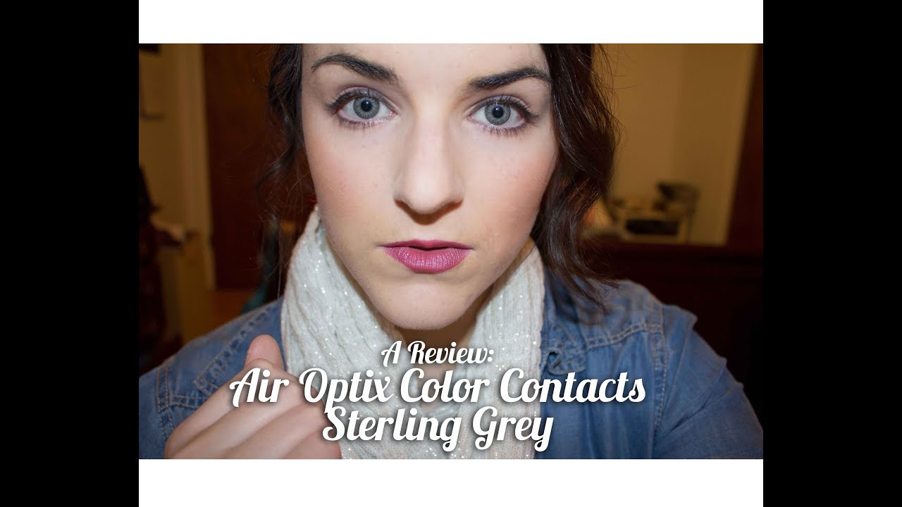 A Review Air Optix Color Contacts Sterling Grey Fo