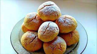 Кукурузное печенье с кокосовой стружкой  / Нежное и рассыпчатое печенье из кукурузной муки Рецепт