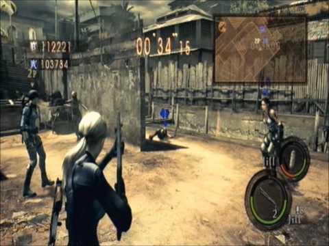 Resident Evil 5 Team Survivor BBT FINISH Felucdante & All Pro LOOSER&QUITTER LOL(ps3)