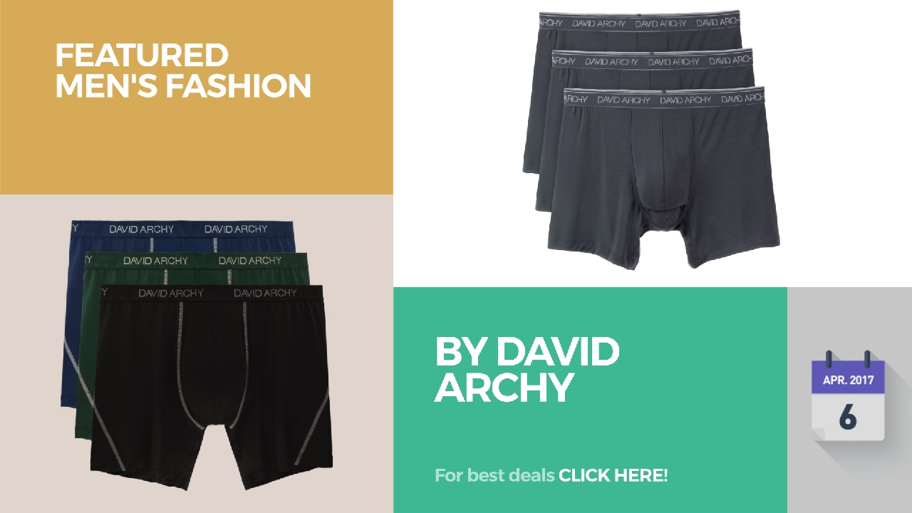 075297a76f By David Archy Featured Men's Fashion - YouTube