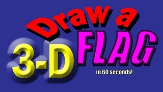 Drawing Ideas for Kids: How to Draw a Flag