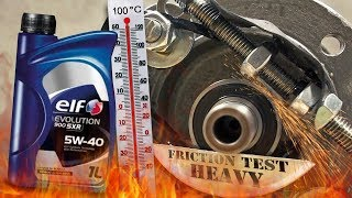 Elf Evolution 900 SXR 5W40 Jak skutecznie olej chroni silnik? 100°C