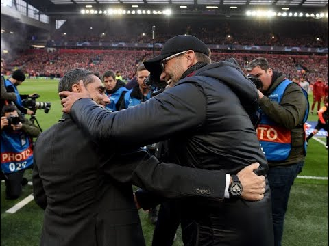 Klopp and Valverde react as Liverpool beat Barcelona 4-0 to reach Champions League final - LIVE!