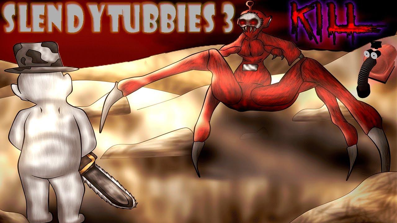 Slendytubbies 3 (2#): ПИЛА ДЕЛАЕТ БЖ-БЖ!!!!