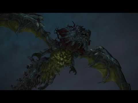 FF14 神龍? vs オメガ (この戦闘ムービー凄すぎwwまるでガンダムのようだw