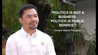 INTERVIEW WITH SENATOR PACQUIAO | A MUST WATCH!