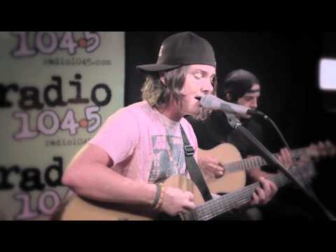 The Red Jumpsuit Apparatus  Face Down Acoustic Performance