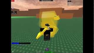 Playing Roblox (Souls25) Ultimate Power 2: Force Unleashed New moves
