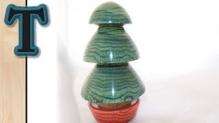 Woodturning Projects | Turning A Christmas Tree