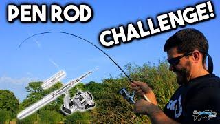 fishing rod pen challenge episode 1   tafishing