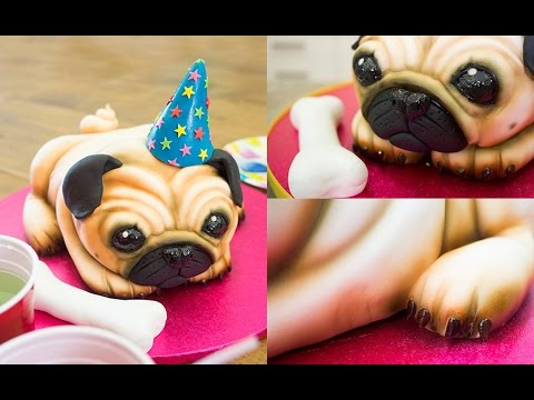 How To Make A Pug Birthday Cake
