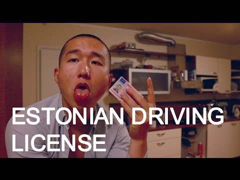 HOW TO GET A DRIVING LICENSE IN ESTONIA