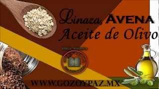 Linaza, Avena y Aceite de Olivo