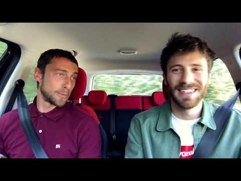 Claudio Marchisio Carpool Karaoke con Nicolò De Devitiis