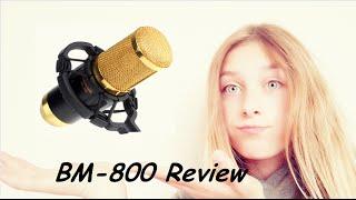 bm 800 microphone review no phantom power lk cuber