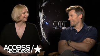 'Game Of Thrones': Gwendoline Christie & Nikolaj Coster-Waldau On Turning Points For Brienne & Jaime