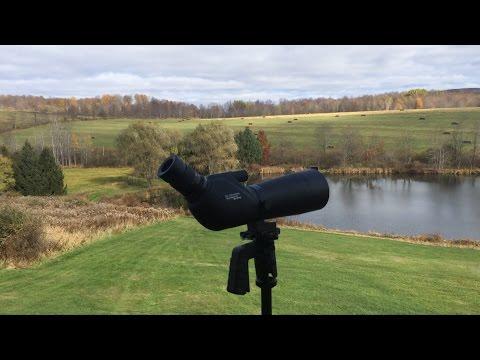 KingLux Spotting Scope (20-60X60mm) Very Impressive For $100