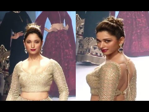 Tamannaah Bhatia's STUNNING ramp walk at Lakme Fashion Week