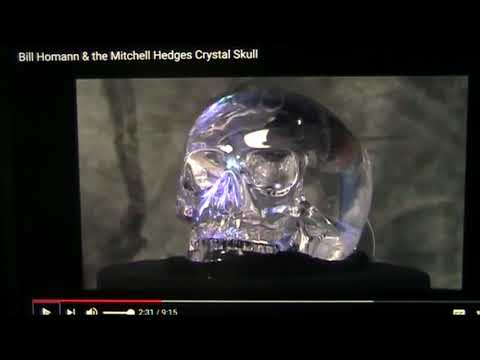 Brain study details of the Michell Hedges Crystal Skull- By MFU