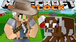 Minecraft Skyblock - Little Kelly - STARTING OUR FARM #3