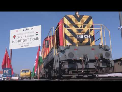 "First ""Silk Road"" freight train from Xi'an arrives in Budapest"