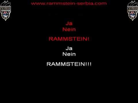 Rammstein - Ramm4 (instrumental with lyrics)