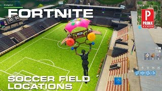 Fortnite Soccer Fields - All Soccer Pitch Locations