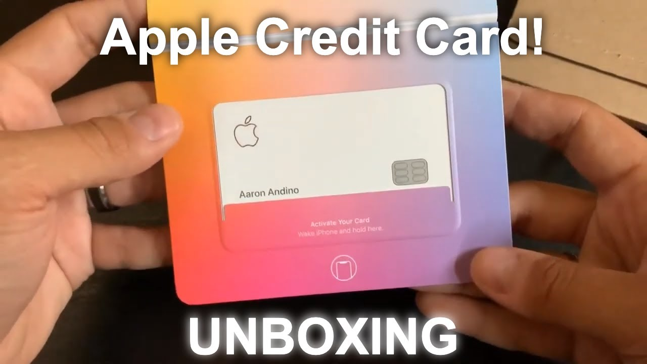 UNBOXING | Apple Credit Card early invite! image