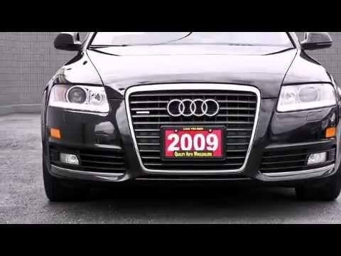 2009 Audi A6 30T Quattro PRESTIGE PKG NAVIGATION REAR CAM Sedan