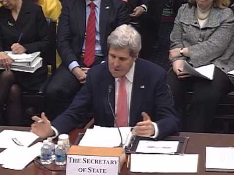 Chairman Royce Questions Secreatry Kerry on Human Trafficking