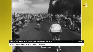VIDEO: 100 ans du maillot jaune : le jour où Poulidor s'est imposé devant Anquetil