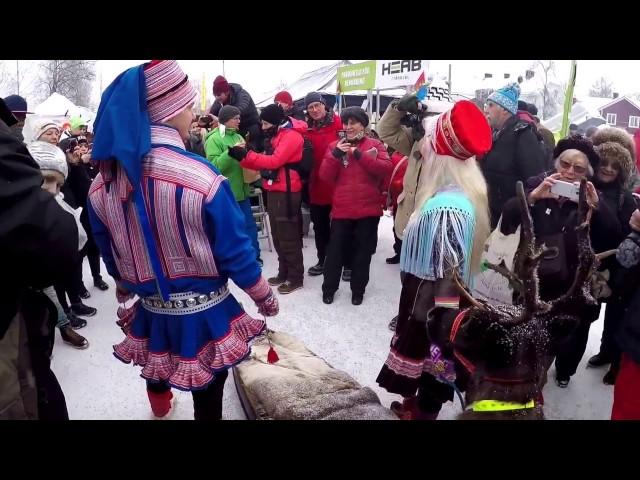Vintermarked i Jokkmokk 2017 er blevet afholdt hvert år siden 1605.