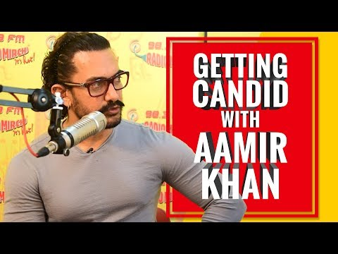 Getting Candid with Aamir Khan    RJ Suren   Radio Mirchi
