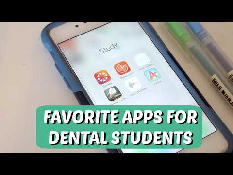 Favorite Apps For Dental Students || Brittany Goes to Dental School