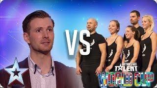 Richard Jones vs Attraction | Britain's Got Talent World Cup 2018