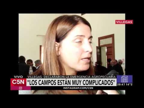 C5N - El Diario: Villegas, declararon la emergencia agropecuaria