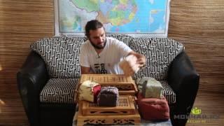 Обзор: мешочки для перевозки посуды и чайные доски из бамбука
