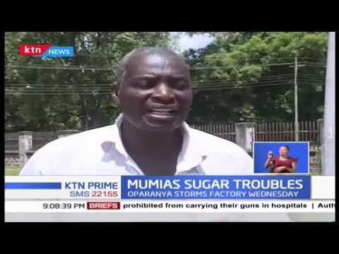 Wycliffe Oparanya storms Mumias Sugar company