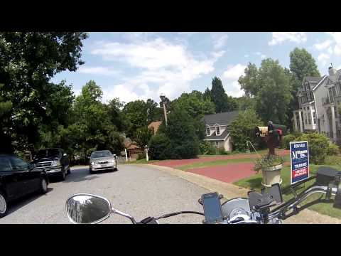 A ride through an Atlanta/Smyrna neighborhood.