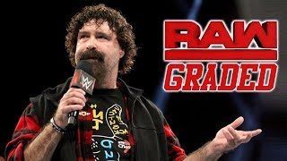 WWE Raw: GRADED (10 September) | Mick Foley's Announcement
