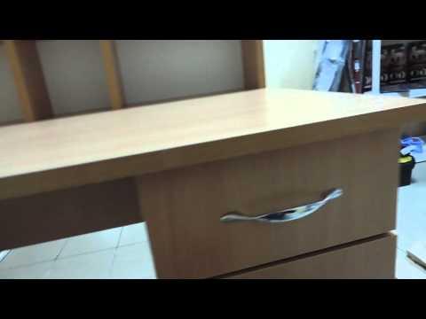 Письменный стол Пи-Пи-1, цвет Бук, фабрика Компанит