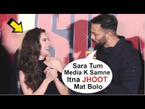 Sara Ali Khan TROLLED By Rohit Shetty In Front Of Media At Simmba Movie Trailer Launch